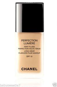 Chanel Perfection Lumeiere  Long wear Flawless fluid makeup spf 10 30ml - 10 Beige