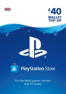 PlayStation PSN £40 GBP Wallet Top Up - Instant Digital Download