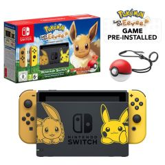 Nintendo Switch Pokemon Console Lets Go Eeve