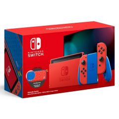 Nintendo Switch Mario Red & Blue Special Edition Console Bundle