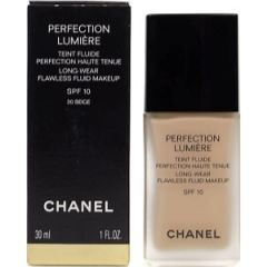 Chanel Perfection Lumeiere  Long wear Flawless fluid makeup spf 10 30ml - 20 Beige