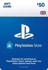 PlayStation PSN £50 GBP Wallet Top Up - Instant Digital Download