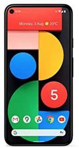 Google Pixel 5 Smartphone - 5G, 128GB Storage, 8GB RAM, Black