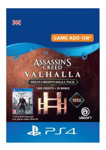 Assassin's Creed Valhalla Small Helix Credits Pack - PS4 Instant Digital Download