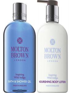 Molton Brown Inspiring Wild Indigo Bath & Body Set