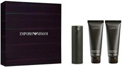 Emporio Armani 'He' EDT 50ml + 2 x 75ml Shower Gel Gift Set - Men's