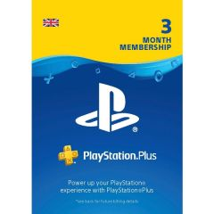PlayStation PS Plus 3 month Subscription - Instant Digital Download