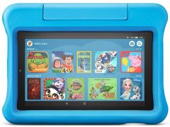 "Amazon Fire 7 Kids Edition Tablet | 7"" Display, 16 GB, - Blue Kid-Proof Case"