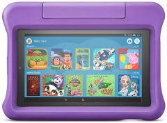 "Amazon Fire 7 Kids Edition Tablet | 7"" Display, 16 GB, - Purple Kid-Proof Case"