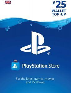 PlayStation PSN £25 GBP Wallet Top Up - Instant Digital Download