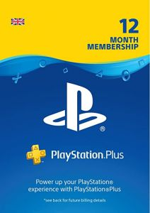 Playstation Plus 12 Month Membership - Digital Code