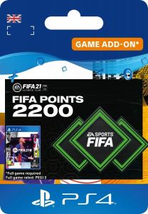 Fifa 21 2200 Ultimate Team Points - PS4