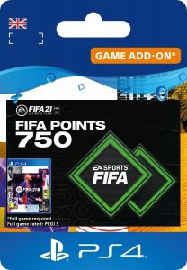 Fifa 21 750 Ultimate Team Points - PS4