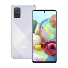 Samsung Galaxy A71 Smartphone - 4G, 6GB RAM, 128GB Storage, Silver