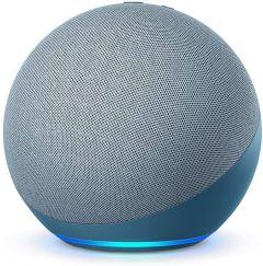 Amazon Echo (4th Generation) Smart Speaker with Alexa - Twilight Blue