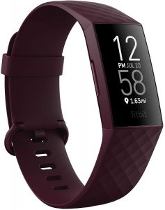 Fitbit Charge 4 Advanced Fitness + GPS - Rosewood