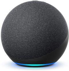 Amazon Echo (4th Generation) Smart Speaker with Alexa - Black