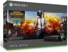 Xbox One X 1TB Black Console and PlayerUnknown's Battlegrounds Bundle