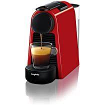 Nespresso Essenza Mini Coffee Machine - Red