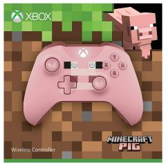 Xbox One Minecraft Pig Controller - Pink