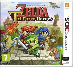 Nintendo 3ds Legend Of Zelda: Tri Force Heroes - Physical game