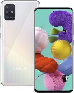 SAMSUNG GALAXY A51 SMARTPHONE - 4G, 4GB RAM, 128GB STORAGE, White