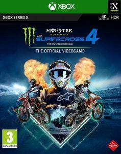 Monster Energy Supercross 4 -  Xbox Series X Game