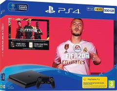 Sony PS4 500GB Console and FIFA 20 Bundle