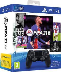 Fifa 21 & DualShock 4 Wireless Controller PS4 Bundle