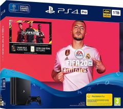 Sony PS4 Pro 1TB Console and FIFA 20 Bundle