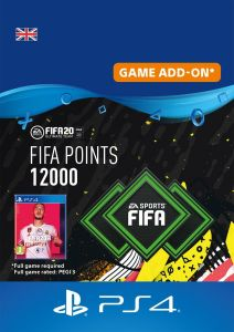 FIFA 20 Points 12000 - PS4 Instant Digital Download