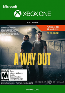 A Way Out - Xbox One - Instant Digital Download