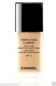 Chanel Perfection Lumeiere  Long wear Flawless fluid makeup spf 10 30ml - 30 Beige