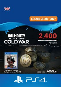 Call Of Duty Black Ops Cold War 2400 Points