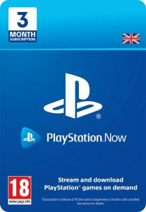 Playstation Now 3 Month Subscription - PS4 - Instant Digital Download Download