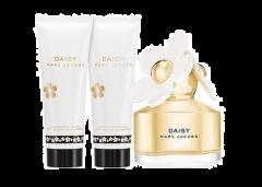 Marc Jacobs Daisy Eau De Toilette Spray 50ml+ Luminous Body Lotion 75ml+Bubbly Shower Gel 75ml