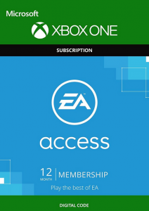 Xbox EA Access - 12 Months Membership- Digital Code