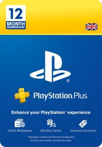 SONY Playstation Plus 12 Month Membership - Instant Digital Download