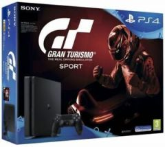 Sony PS4 Gran Turismo The Real Driving Simulator Sport 500GB - Jet Black