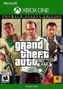 Grand Theft Auto V: Premium Online Edition - Xbox UK Digital Code Instant Delivery