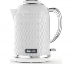 Breville Curve VKT117 Jug Kettle - Chrome White