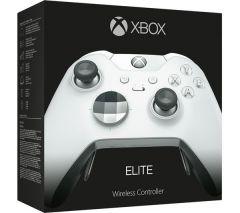 Microsoft Xbox One X Elite Wireless Controller- WHITE