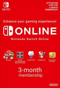 Nintendo Online Membership 3 Months UK - Instant Digital Download