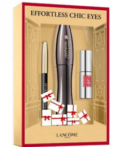 Lancome Hypnose Effortless Chic Eyes Mascara - 01 Noir 3 pieces gift set