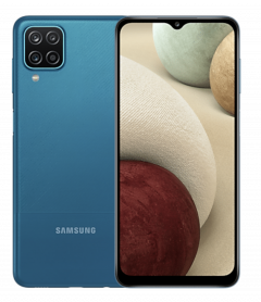Samsung Galaxy A12 Smartphone - 4G, 64GB Storage, 4GB Ram, Blue