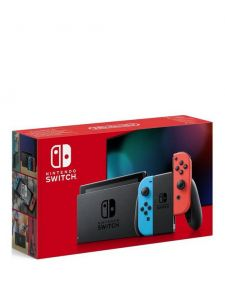 Nintendo Switch Console V2 Edition - Neon, Red & Blue (Improved Battery)