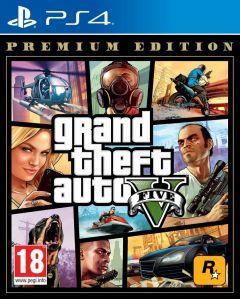 PS4 Grand Theft Auto V (GTA V) Premium Edition