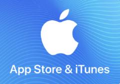 APPLE iTunes UK £10