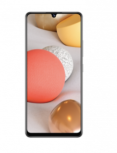 Samsung Galaxy A42 5G Smartphone - 4GB RAM, 128GB Storage, Prism Dot White