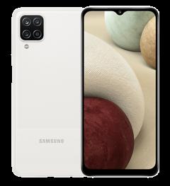 Samsung Galaxy A12 Smartphone - 4G, 64GB Storage, 4GB Ram, White
